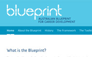 Blueprint Career Development website