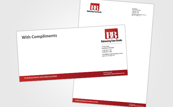 With Compliments and Letterhead Layouts