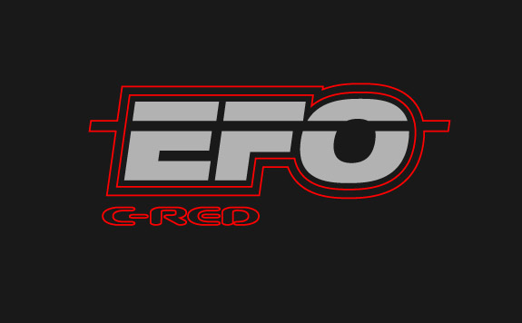 EFO - custom branding for a C-Red Car