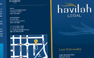 Havilah Legal Promo Material