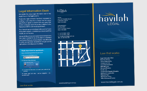 A4 DL Brochure (outside)
