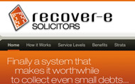 Recover-e-Solicitors Website