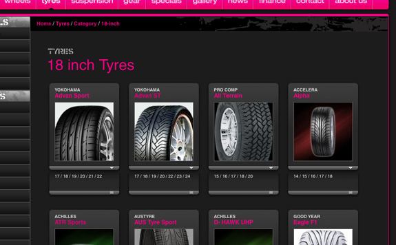 Tyre gallery